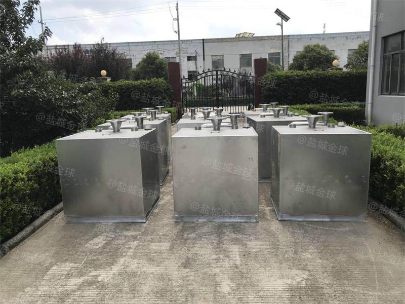 处理量0.3吨长800*宽400*高500隔油池如何做