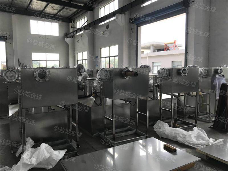 处理量60吨长3400*宽1500*高1200商场隔油池大小