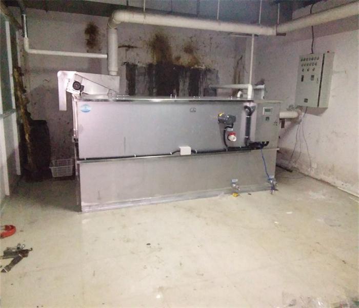 全自动油水分离器餐饮污水分离设备隔油处理设备已完工