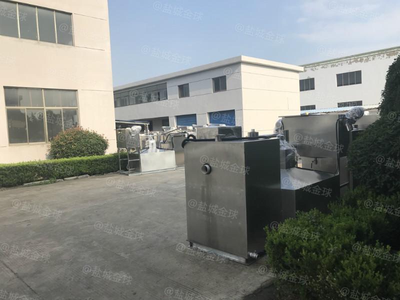 北京隔油池安装相片