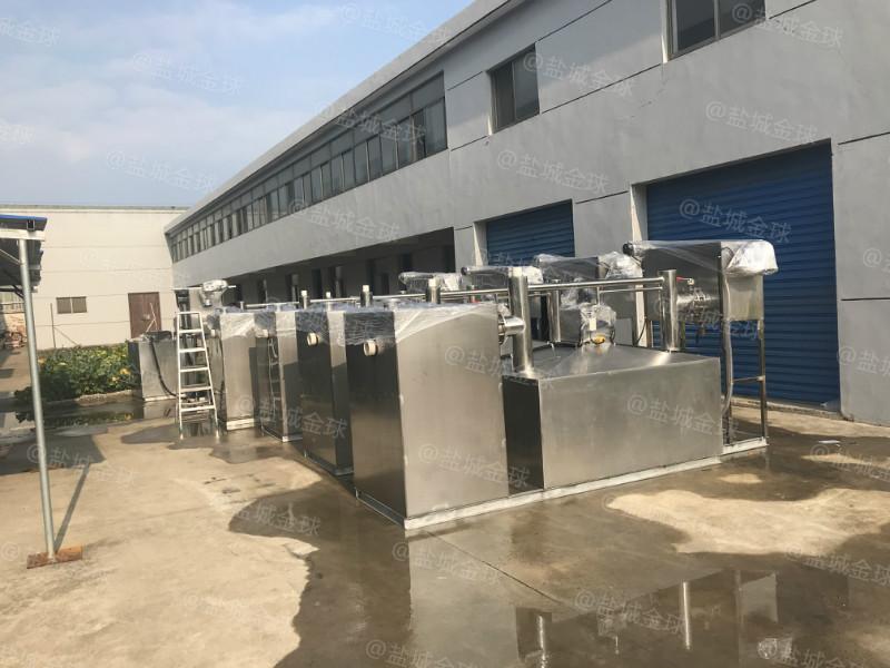 北京5000人隔油提升一体化设备厂家