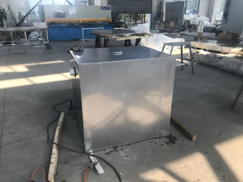 湖南4000人油水分离器的应用