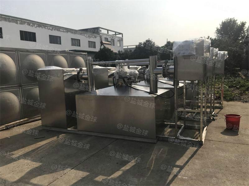 衢州一体化隔油提升设备多大产品展示