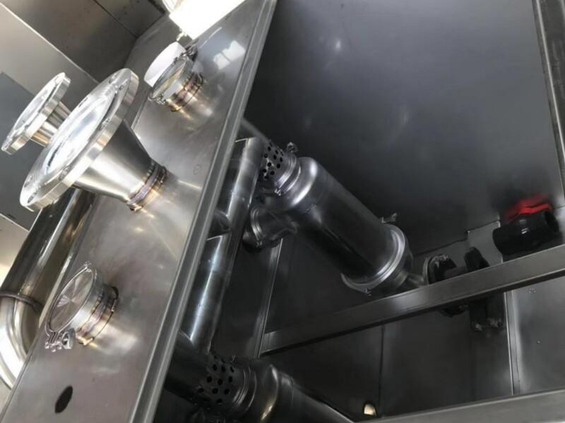 餐饮油水分离器三种清洗结构图